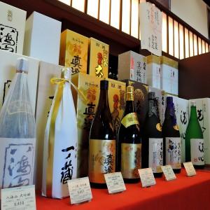 お正月にオススメ、日本酒各種