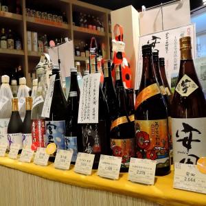 季節限定の焼酎/安田、あまこがね、ひとり歩き黒傳、宮の露・・・